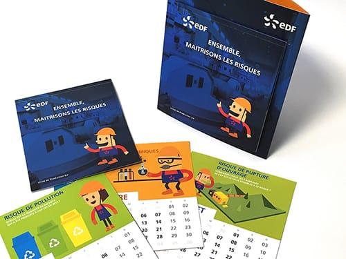 EDF - Calendrier des bonnes conduites