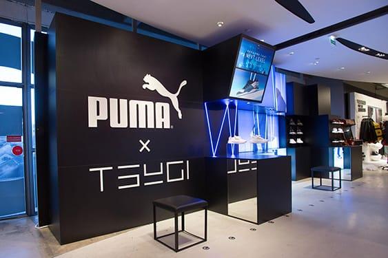 TSUGI x PUMA - Retail design