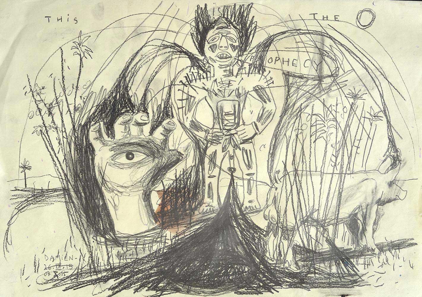 L'artiste français Damien Deroubaix rejoint la collection à l'agence