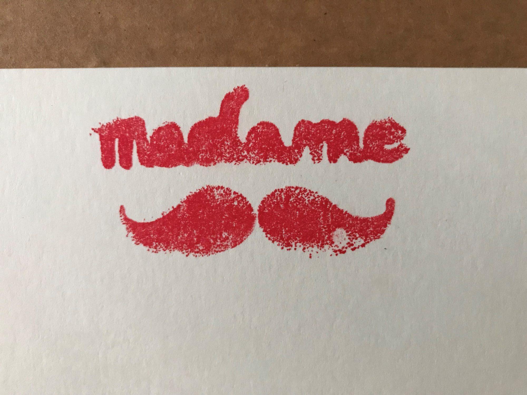 Le petit cabinet de curiosités de Madame Moustache