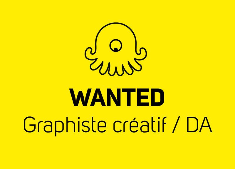Graphiste Créa/DA Communication Print et Webdesign